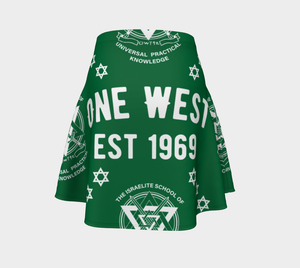 One West Princess Skirt Green