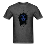 Liberty Of Kaos (Blue) T-Shirt - heather black