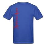 AK Signature Men's T-Shirt - royal blue