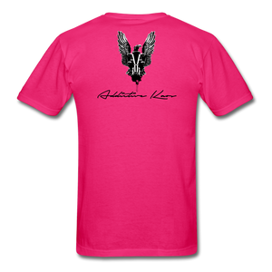 Order Of Owls Men's T-Shirt - fuchsia