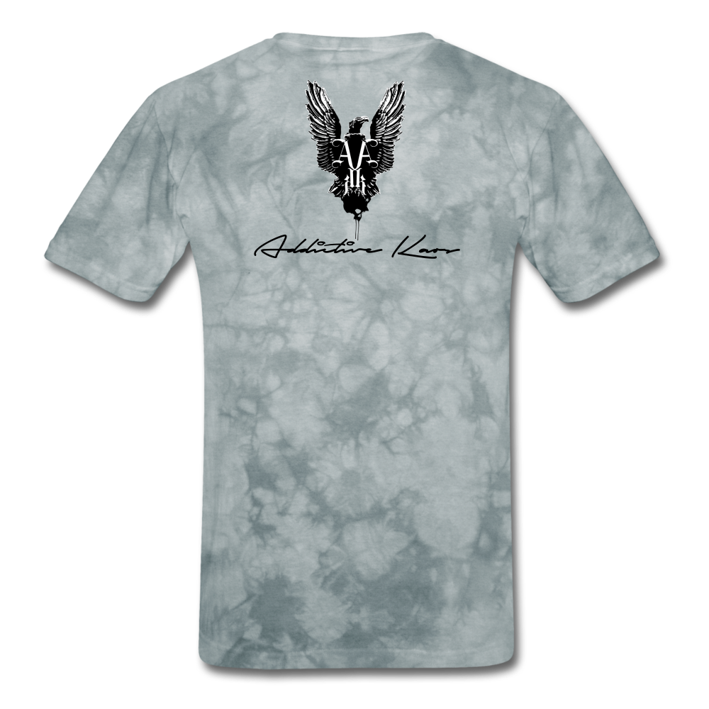 Order Of Owls Men's T-Shirt - grey tie dye