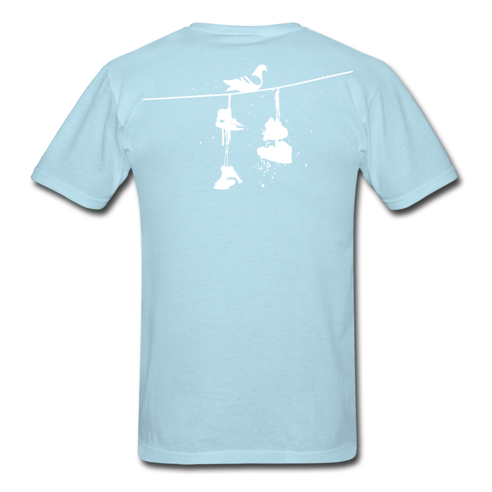 Old New York AKT-Shirt - powder blue