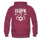 Home of the Truth Hooded Sweatshirt - burgundy
