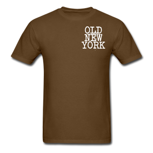Old New York AKT-Shirt - brown