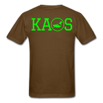 Addictive Neon T-Shirt - brown