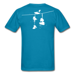 Old New York AKT-Shirt - turquoise