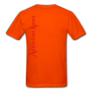 AK Signature Men's T-Shirt - orange