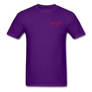 AK Signature Men's T-Shirt - purple