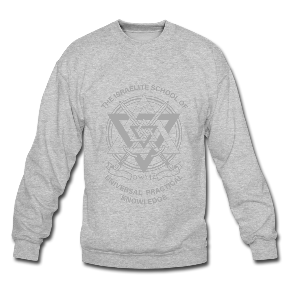 CLASSIC ISUPK Crewneck Sweatshirt - heather gray