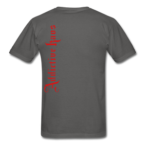 AK Signature Men's T-Shirt - charcoal