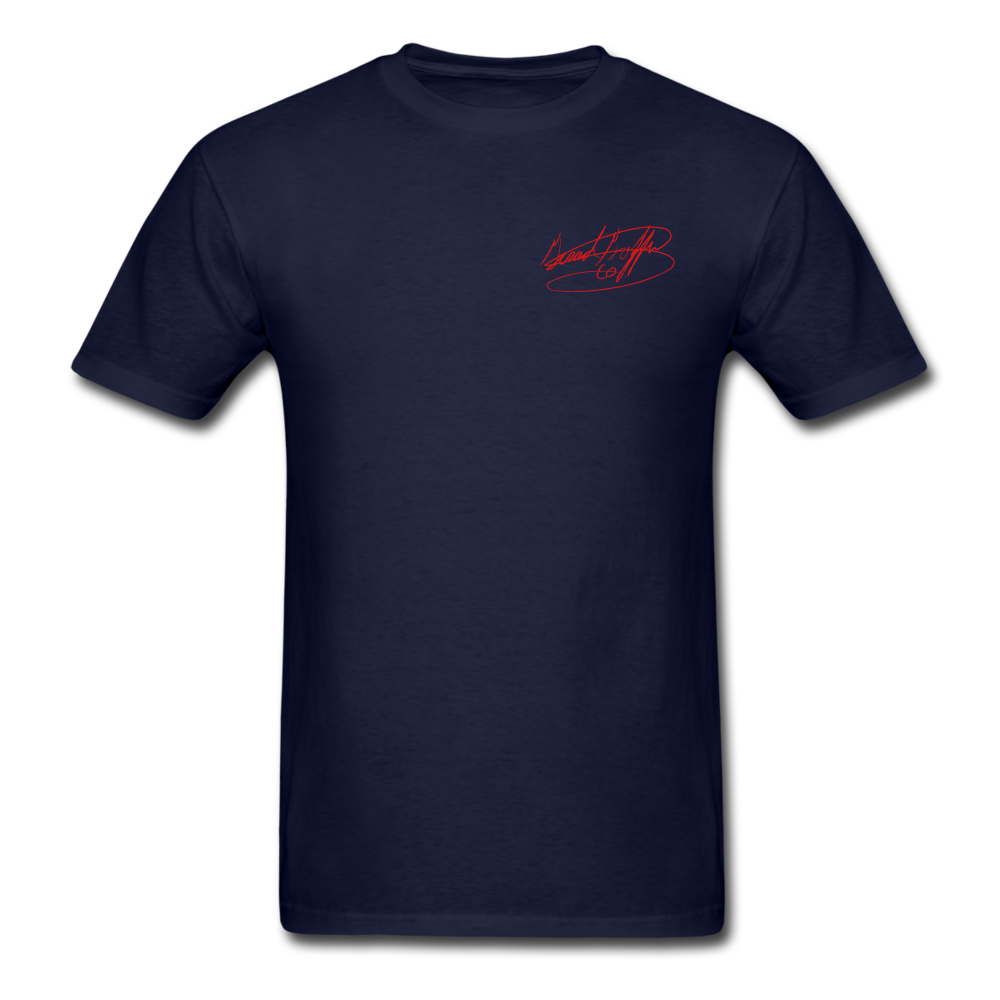 AK Signature Men's T-Shirt - navy
