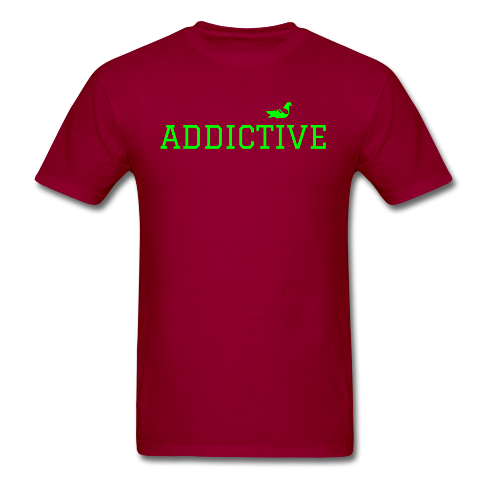 Addictive Neon T-Shirt - dark red