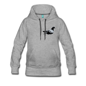 Classic Addictive Kaos Logo Women's Hoodie - heather gray