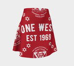 One West Princess Skirt Red