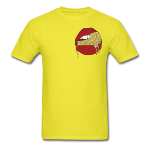Ocean Lust Men's T-Shirt(GLD) - yellow