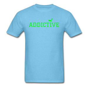 Addictive Neon T-Shirt - aquatic blue