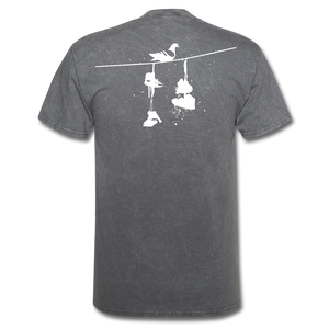 Old New York AKT-Shirt - mineral charcoal gray