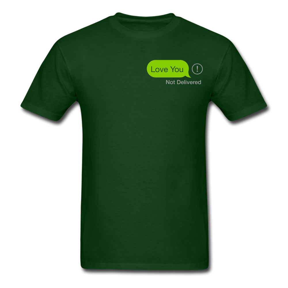 Love You T-Shirt - forest green