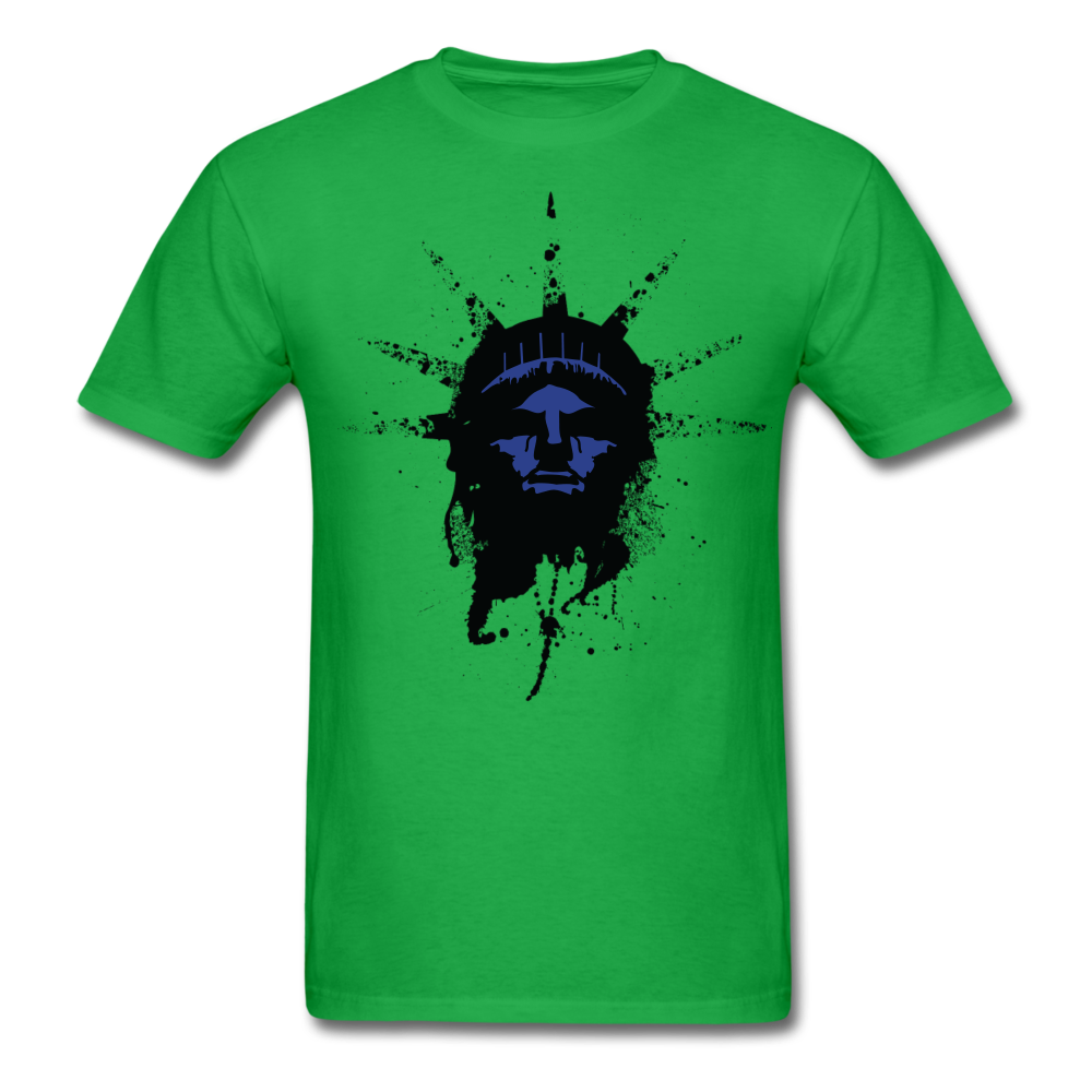 Liberty Of Kaos (Blue) T-Shirt - bright green