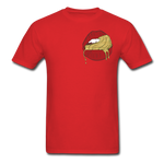 Ocean Lust Men's T-Shirt(GLD) - red