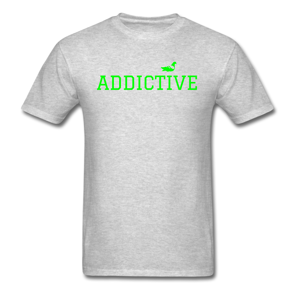 Addictive Neon T-Shirt - heather gray