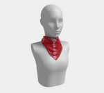 One West Scarf Red