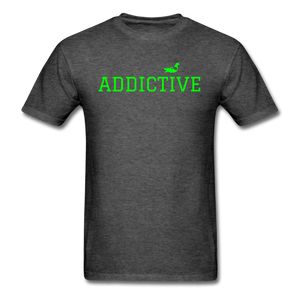 Addictive Neon T-Shirt - heather black