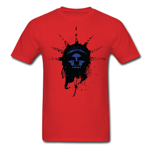 Liberty Of Kaos (Blue) T-Shirt - red