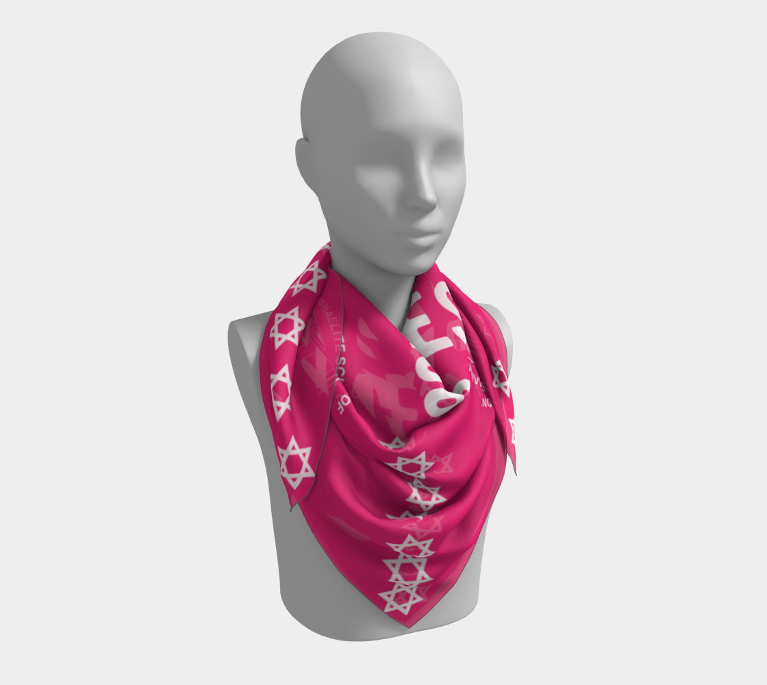 One West Scarf Pink