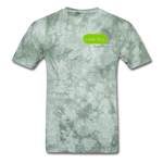 Love You T-Shirt - military green tie dye