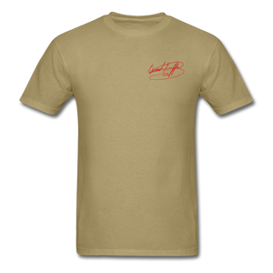 AK Signature Men's T-Shirt - khaki
