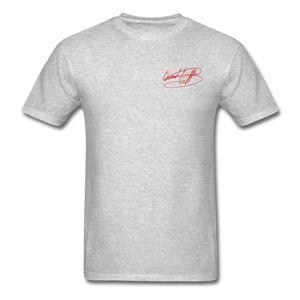 AK Signature Men's T-Shirt - heather gray
