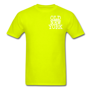 Old New York AKT-Shirt - safety green