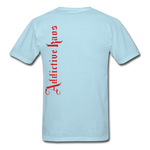 AK Signature Men's T-Shirt - powder blue