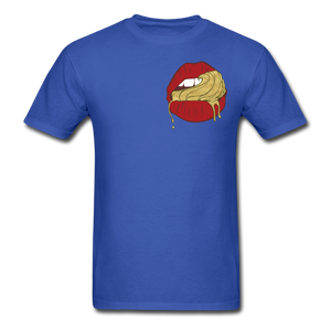 Ocean Lust Men's T-Shirt(GLD) - royal blue
