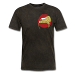 Ocean Lust Men's T-Shirt(GLD) - mineral black