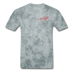 AK Signature Men's T-Shirt - grey tie dye