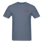 AK Signature Men's T-Shirt - denim