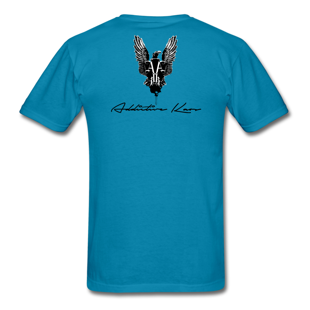 Order Of Owls Men's T-Shirt - turquoise