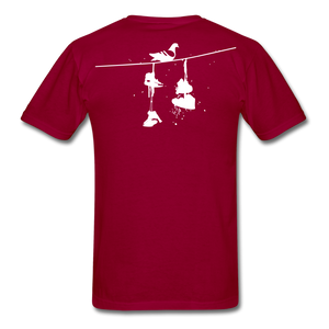 Old New York AKT-Shirt - dark red