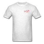 AK Signature Men's T-Shirt - light heather grey