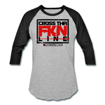 CTL baseball tee - heather gray/black
