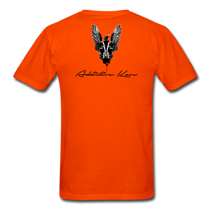 Order Of Owls Men's T-Shirt - orange