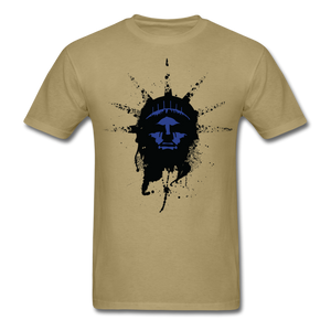 Liberty Of Kaos (Blue) T-Shirt - khaki