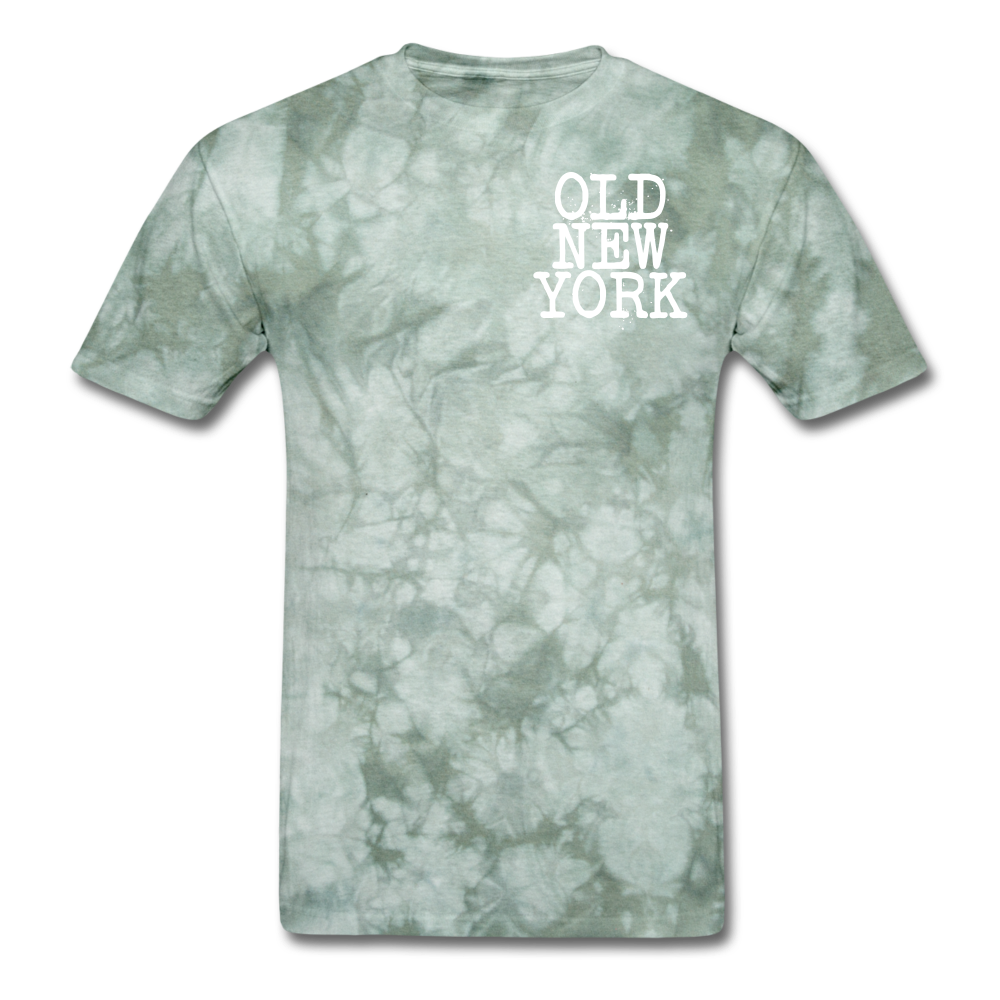 Old New York AKT-Shirt - military green tie dye