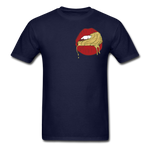 Ocean Lust Men's T-Shirt(GLD) - navy