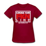 CTL Womans T-Shirt - dark red