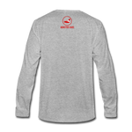 Dead Vamps Long Sleeve Joint - heather gray