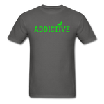Addictive Neon T-Shirt - charcoal