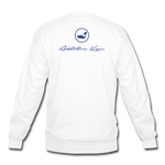 Rotten Apples and Dirty Birds Crewneck Sweatshirt - white